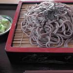 山形そば本陣 - 料理写真:H29年6月、ざるそば(700円)