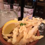 Bar de Ollaria - シラウオのフリット