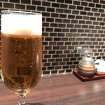 串処 権鹿 - ちょい飲みSET 980円の『ザ・プレミアム・モルツ「香るエール」生 620円』。