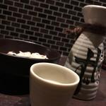 串処 権鹿 - 冷酒(1合)500円。