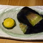 五郎 - ○なす漬け 380円
