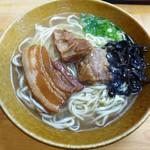 本家 亀そば - 料理写真:亀そば(中)