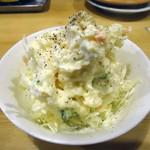 フナバシ屋 - 「ポテトサラダ」350円也。