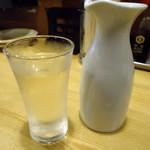 フナバシ屋 - 石川の酒「加賀鳶」500円也。