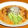 麺処とらたま - 料理写真:辛いゴマの冷やしタンタン麺