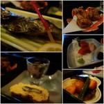 潮浜 - 料理の数々