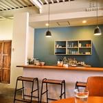 アカツキコーヒー - 店内(カウンター席)