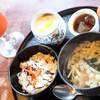 ダイニングカフェまき - 料理写真:うどんセットのモーニング トマトジュース代400円のみ
