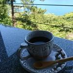 open cafe 遠見茶屋 - 食後のサイフォンコーヒー