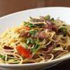 俺のイタリアン - 料理写真:季節のペペロンチーノ