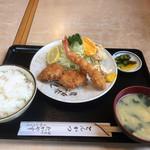 たかやす - 上ミックスフライ・1000円(税抜き)