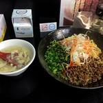 汁なし坦坦麺 ちりちり - ★汁なし坦坦麺 中盛 オリジナル(750円)ライス(0円)★