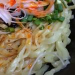 汁なし坦坦麺 ちりちり - ★汁なし坦坦麺 中盛 オリジナル(750円)ライス(0円)★混ぜる前の麺