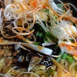 汁なし坦坦麺 ちりちり - ★汁なし坦坦麺 中盛 オリジナル(750円)ライス(0円)★「醤」見えますか?