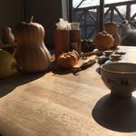68097997 - 西陽射すテーブルで和紅茶を…