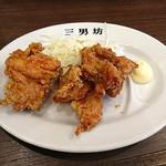 濃厚タンメン三男坊 - カラアゲ(3個)