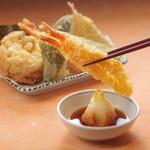 天吉屋 - 天ぷら五種
