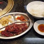 焼肉レストラン トマトハウス - 焼肉定食