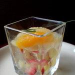 ウイスタリア - 料理写真:フルーツゼリー