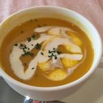 68100913 - かぼちゃの冷製スープ。                       うまし