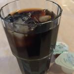 68100915 - アイスコーヒー。                       ¥1060のランチなのに、食後にクツロイでも良いんですか?ありがたし!