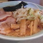 麺通 - らーめん@¥780(大盛り無料)
