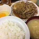 68105414 - お皿(みそ汁・玉子)