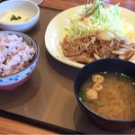 やよい軒 - 生姜焼き定食