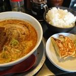 勢拉 - ラーメン・餃子(3個)ライス セット