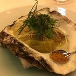 レストラン ラ フィネス - 唐津の赤雲丹の塩雲丹