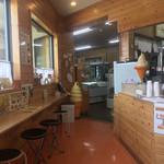 卵菓屋 - イートインスペース