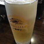 五味八珍 - 冷冷の生ビール(笑)