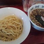 NOODLE SHOP 大金星 - ノーマルつけ麺700円 麺量200g版。