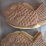 やきもの本舗 - 料理写真:鯛焼き カスタードクリーム 120円 鯛焼き 小倉 110円