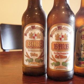 ブラウマイスターが作るビール