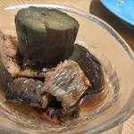 錦大丸 よし - 冷やしナスにしん煮