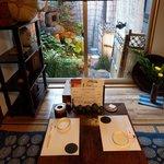 tsuboniwa - 坪庭を眺める座敷