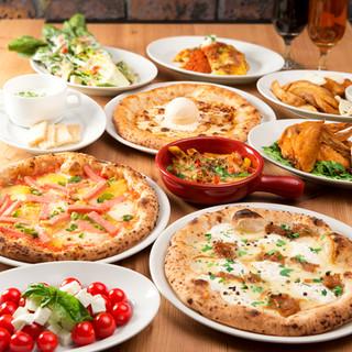ナポリピッツァ&食材にこだわった前菜・肉料理がおすすめ!