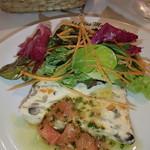 ル・クロ・モンマルトル - お魚とキノコのテリーヌ