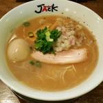ラーメンJACK - 料理写真:牛玉そば 850円