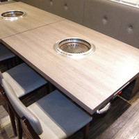 【B3】4名様用のゆったりとしたテーブルで、高級焼肉をお楽しみください!