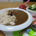 きたる - 甘エビカレー食べてみたよ♪(2017年5月)