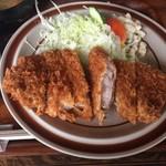 レストラン高砂 - カツランチ(590円) アップ