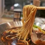 京都千丸 しゃかりき むらさき - 麺