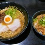 一竜 - こってりラーメン&チャーシュー丼