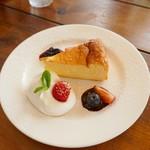 Cota Cafe - ニューヨークチーズケーキ