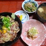 たこ柾 - まぐろ丼定食