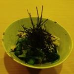 68119780 - 水菜といんげん豆のおひたし付き