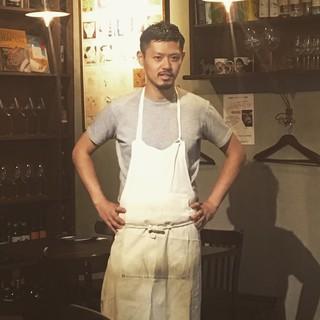 chefの高木祐介....素材に実直な不器用な男