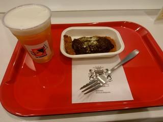アグーリ バイ シャンゴ - 【2017.6.5(月)】麦豚のロースカツミートソースがけ+生ビール